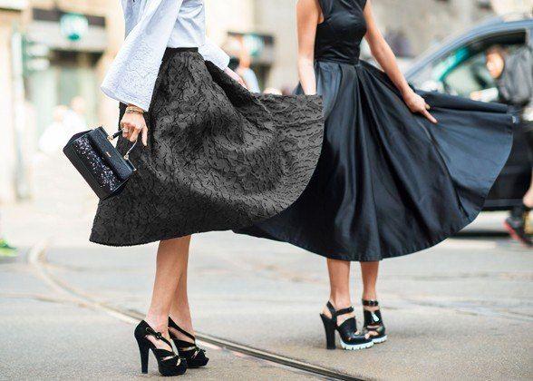 Trend Report: Midi Skirts