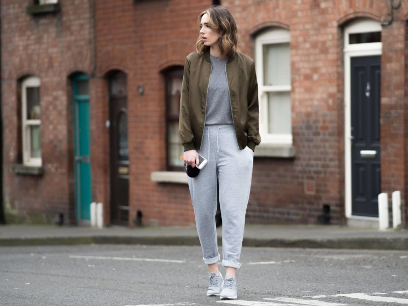 Style Diary: Joggers & Satin Bombers