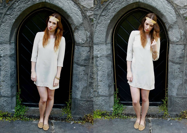 The Girl in White // Featuring Eclectic Eccentricity
