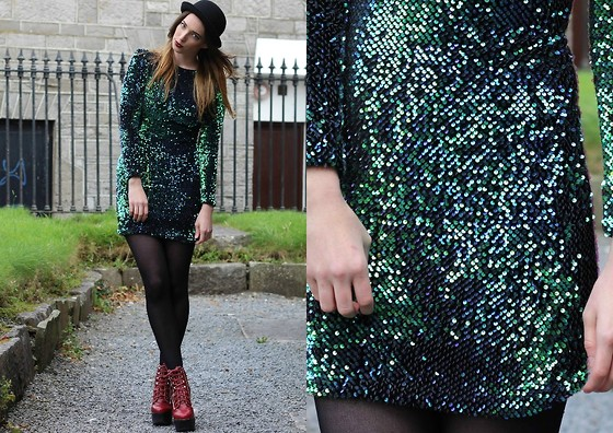 Outfit Post: A Galaxy in a Dress!