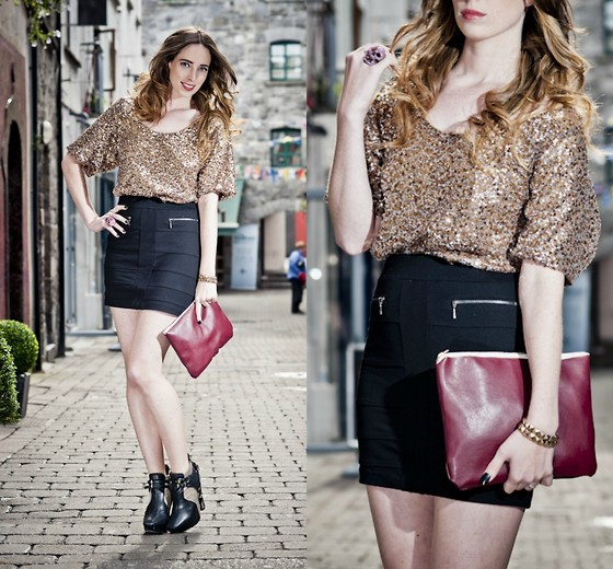 Outfit Post: Festive Christmas Outfit // Feature in Xposé Magazine