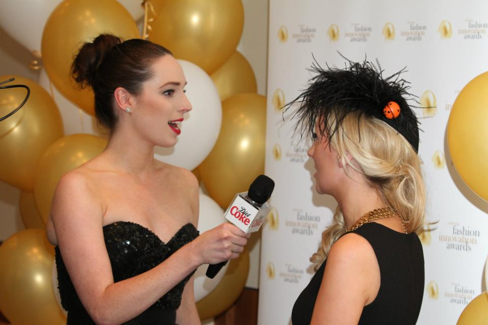 WATCH: Fashion Innovation Awards Video- Presenting for Diet Coke Tv!