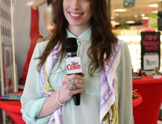 "Diet Coke ""Get Glam"" Event ~ Finished Video & Photos!"