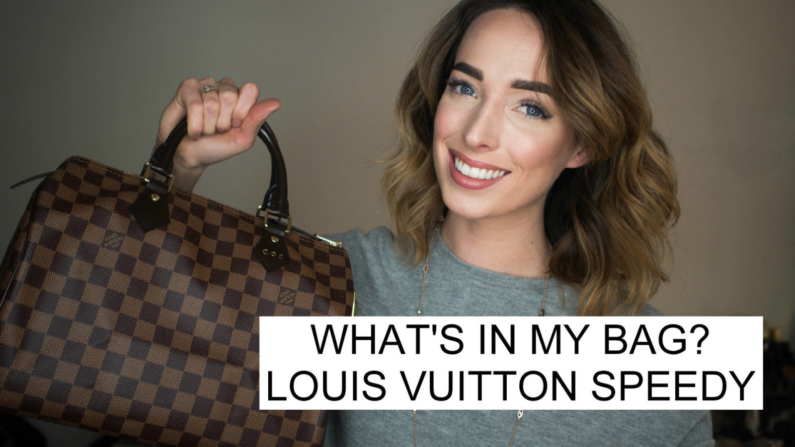 What's in my bag & Review of Louis Vuitton Speedy 30