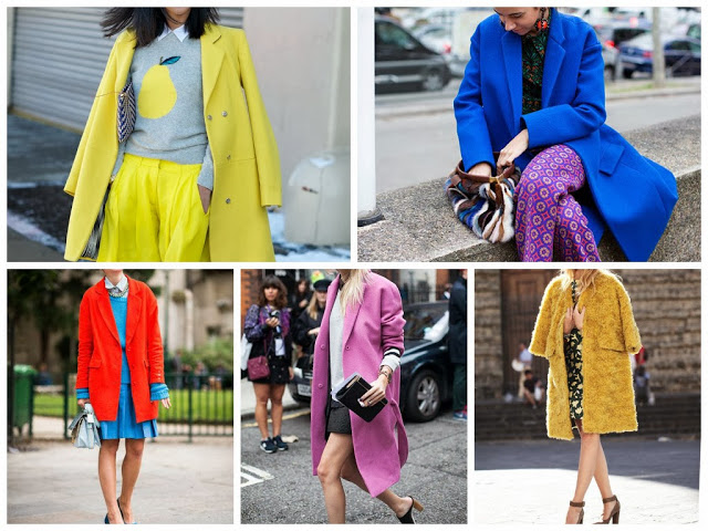 A/W Coat Edit: Colour-Pop Coats