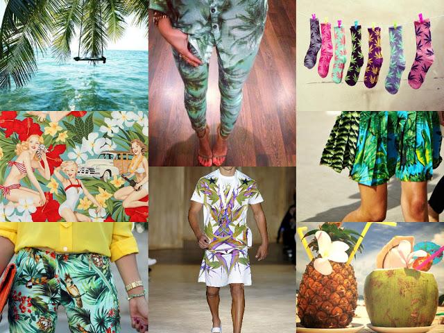 Trend Report: Tropical Print ~ Mood-board & Top picks