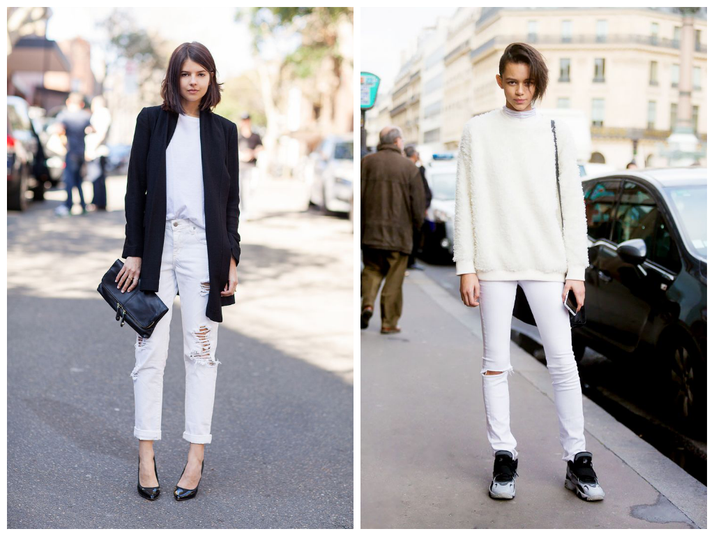 Trend Report: White Jeans