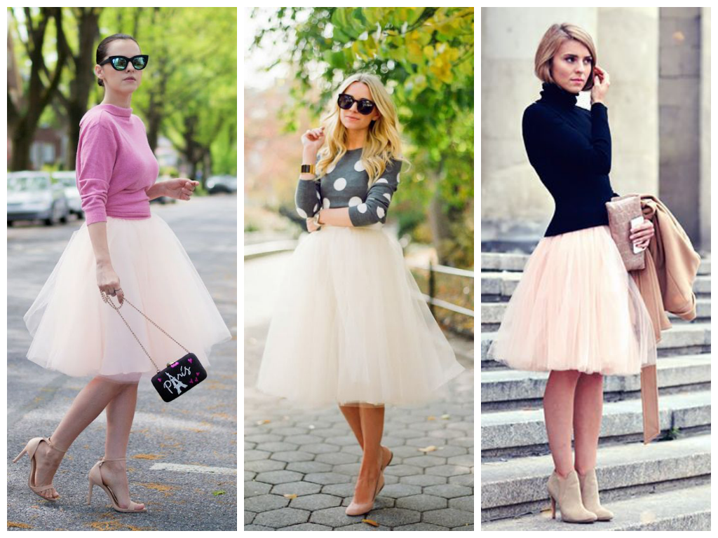 0f697b5644 How to wear it: Tulle Skirts