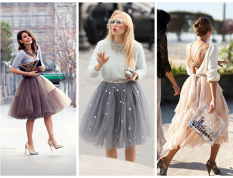 Trend Report:  Tulle Skirts