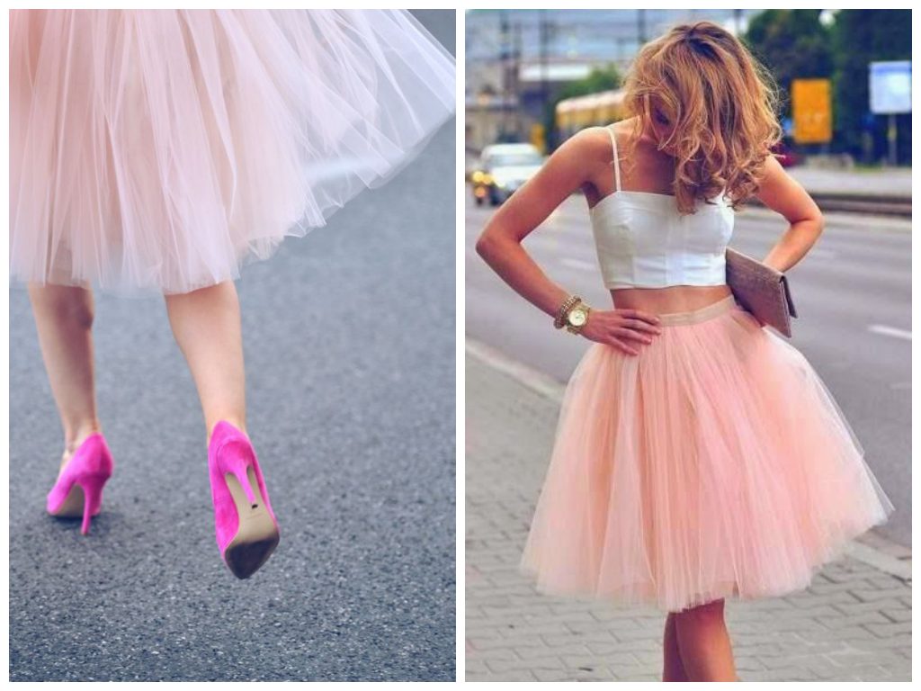 How to wear it: Tulle Skirts