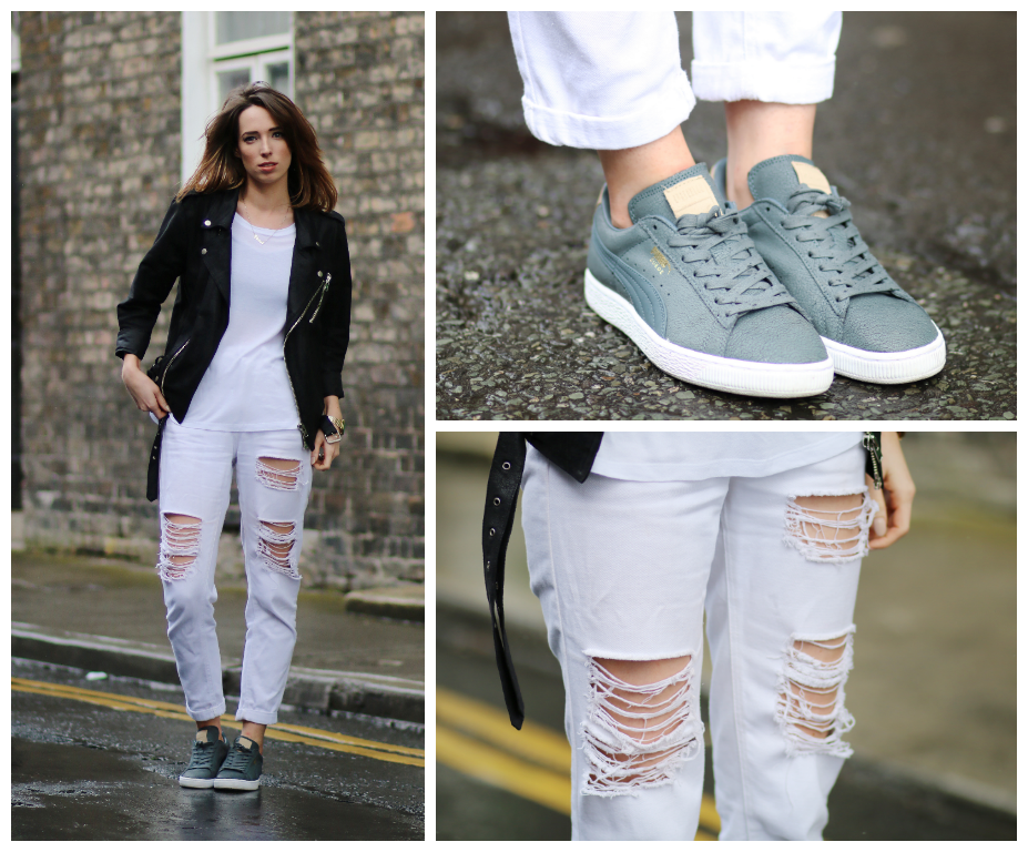 STYLE DIARY: DISTRESSED DENIM