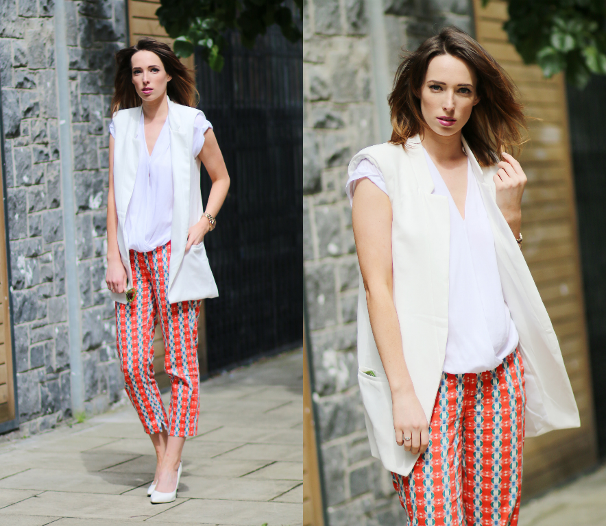 Style Diary: Printed Trousers