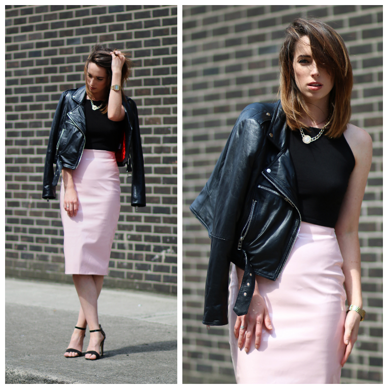 Style Diary: Pastels and Bikers