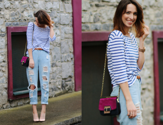 Style Diary: Breton Stripes & Ripped Knees