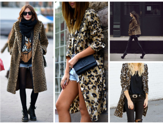 AW Coat Edit: Leopard Print