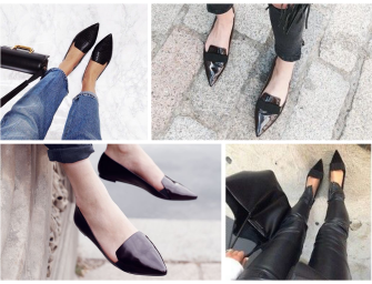 Wardrobe Essentials: Pointed Flats