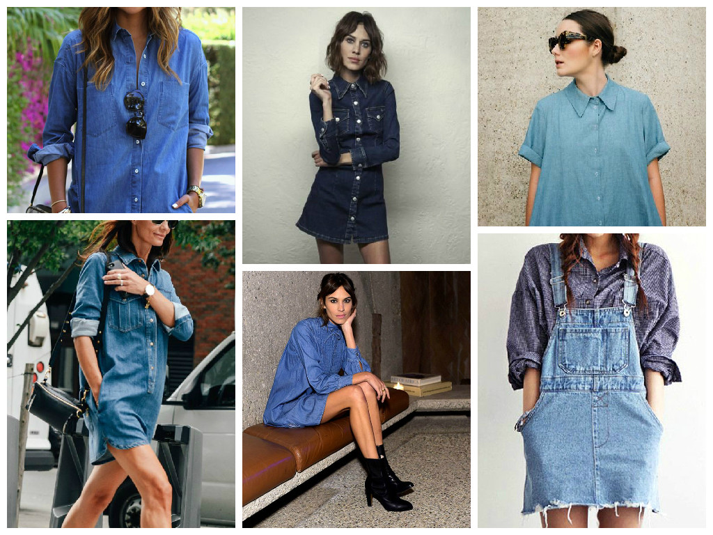 SS15 Trend Report: The Denim Dress