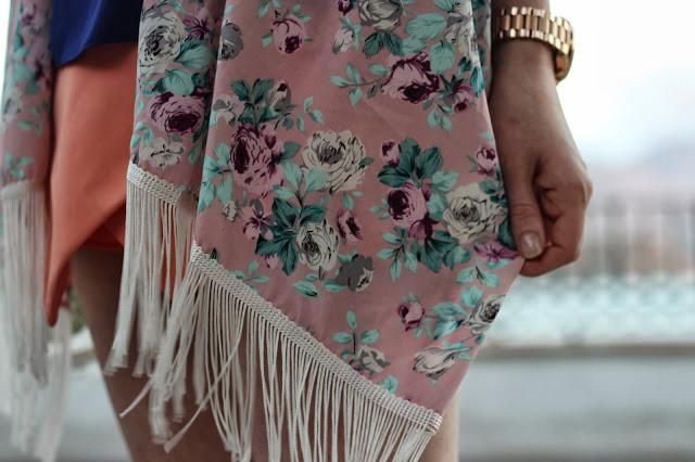 Outfit Post: Fringed Kimono