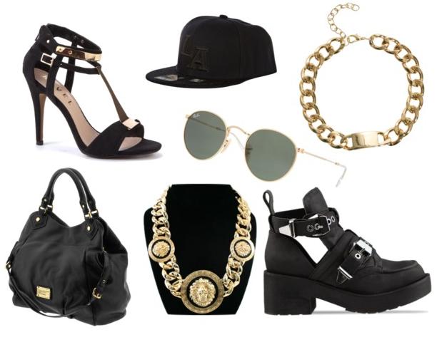 Wish List #3 ~ Black & Gold