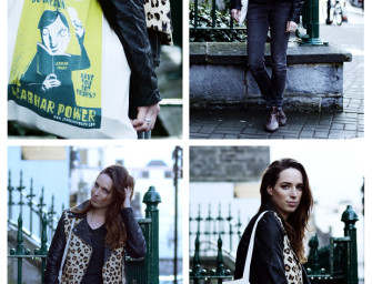 Outfit Post: Leather&Leopard
