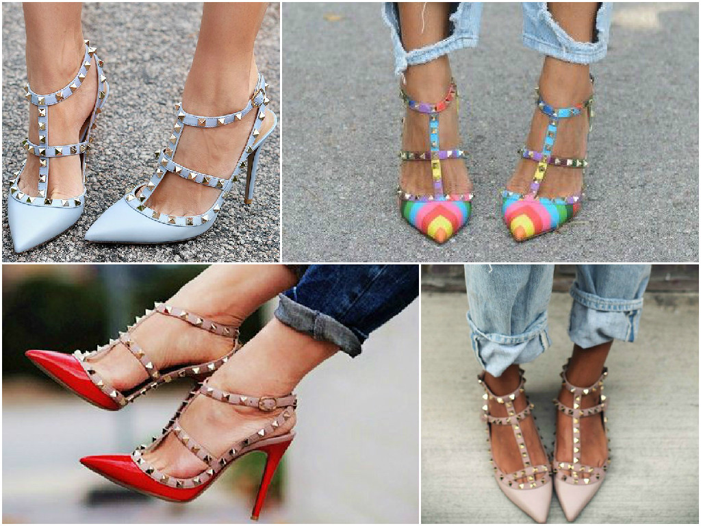 Get the look for less: Valentino Rockstuds