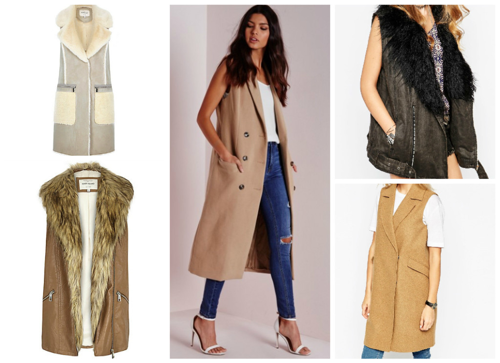 Winter Coats under €100: Sleeveless