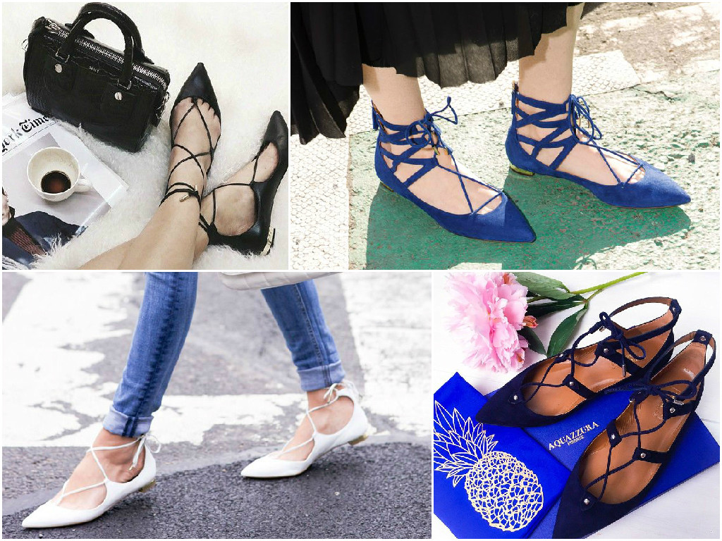 Online Bargains: Aquazzura Flats | Get the look for less