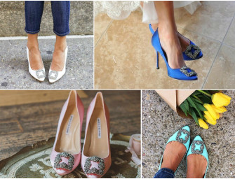 Online Bargains: Designer inspired wedding shoes for less