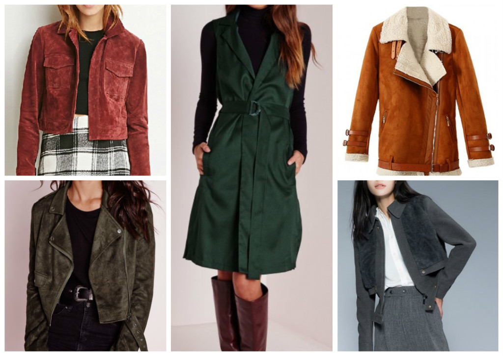 AW Coats Under €100: Suede-Effect