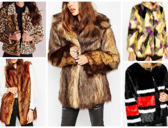 Winter Coats under €100: Faux Fur