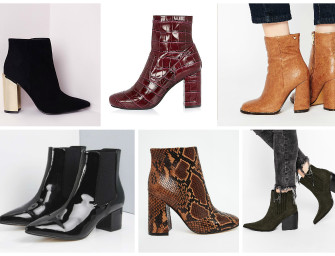 Online Bargains: Great Ankle Boots under €100