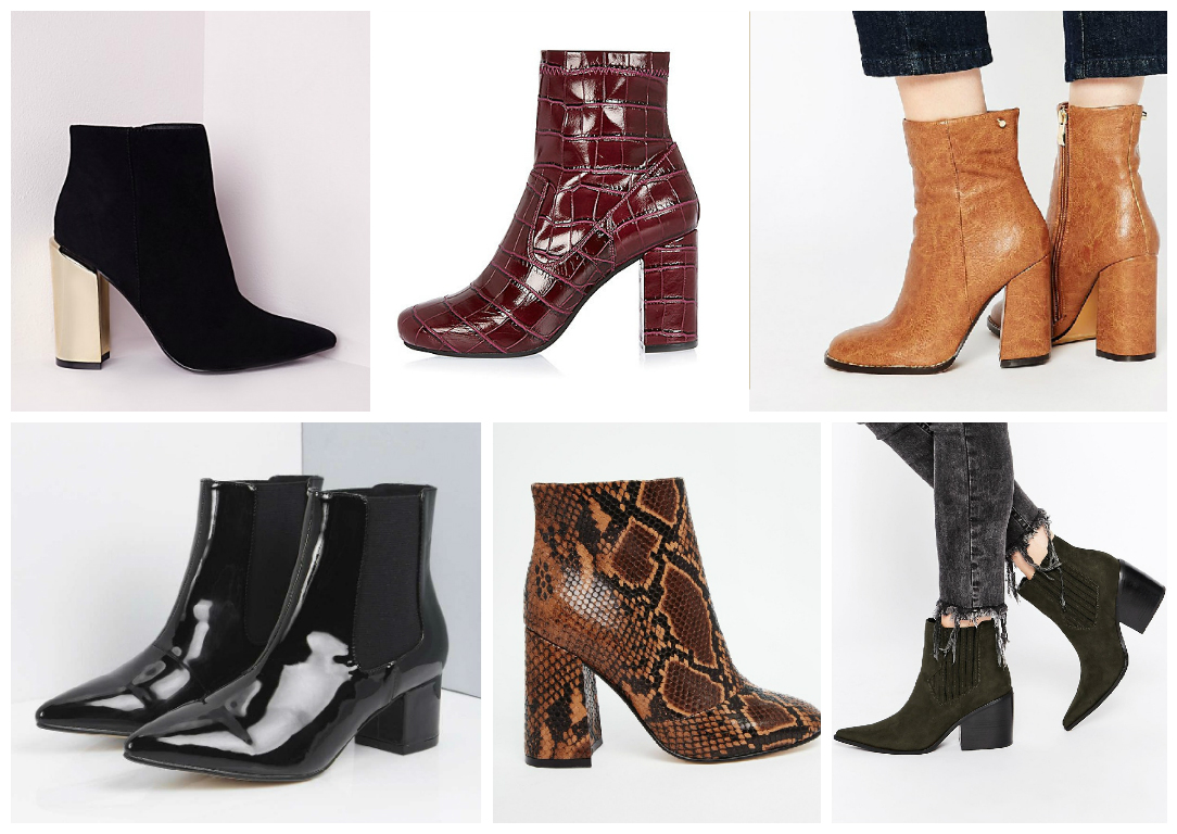 Online Bargains: Great Ankle Boots under €100 - Ciara O' Doherty