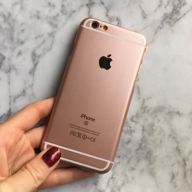 rose gold hard plastic case for iphone 6 6s ciara o 39 doherty. Black Bedroom Furniture Sets. Home Design Ideas