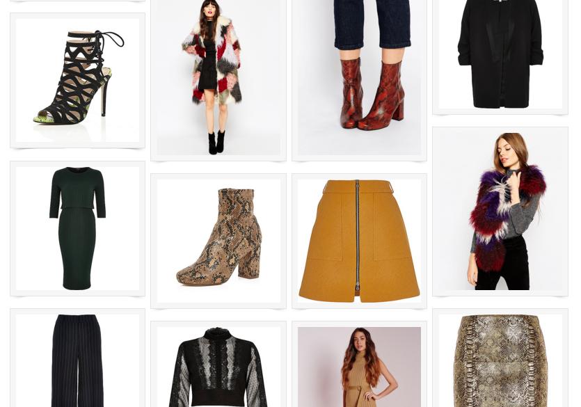 October Payday Wishlist & New Wardrobe additions