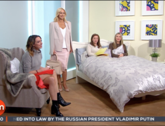 Ireland AM slot with Littlewoods Ireland and Caprice