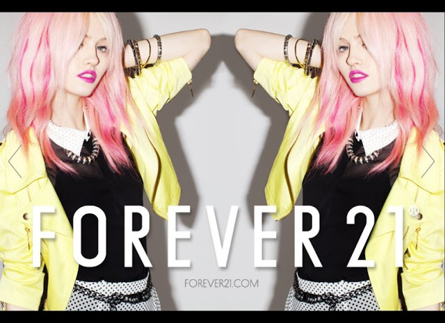 Girl Crush Charlotte Free is face of Forever 21