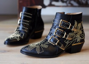 Real Vs Steal Chloe Studded Ankle Boots Vs Office