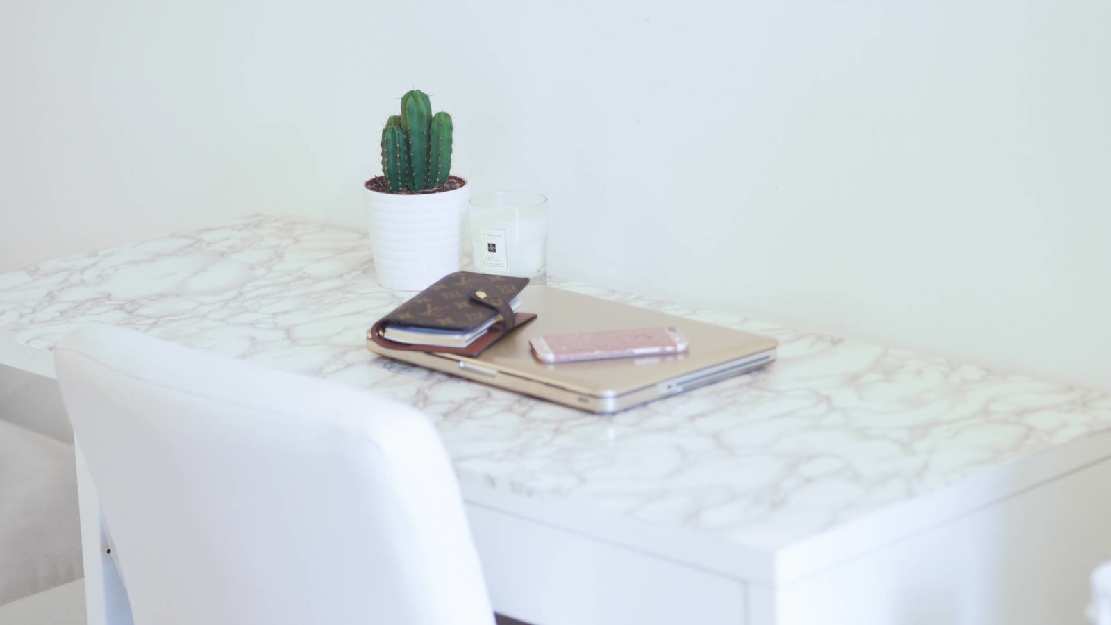Ikea Hack Diy Marble Desk Ciara O Doherty