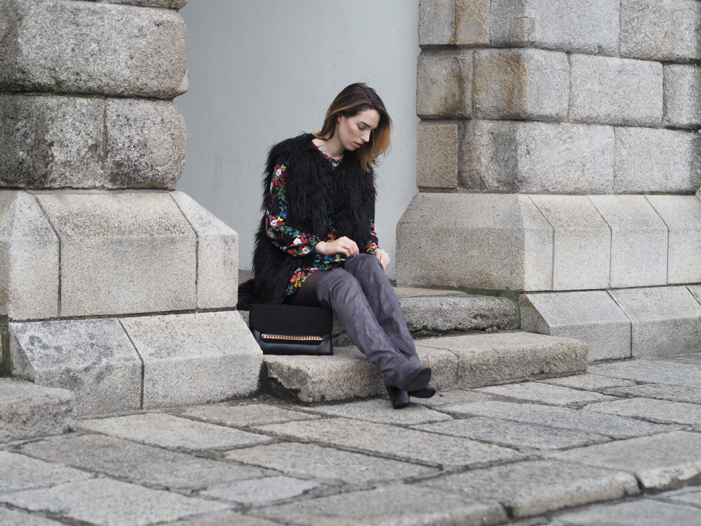 Style Diary: Autumnal Florals & Faux Fur