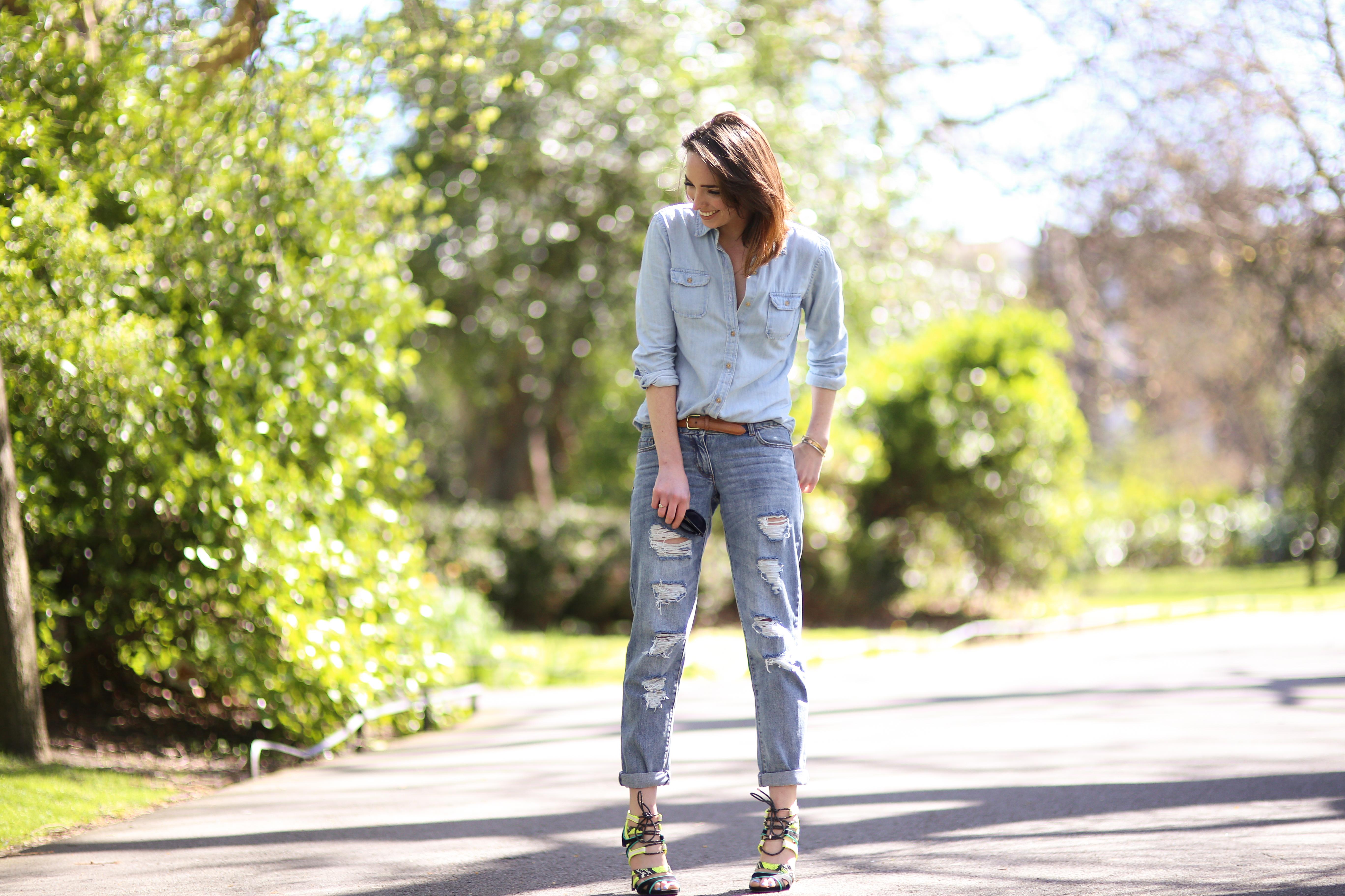 Style Diary: The Boyfriend Jean