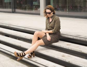 Style Diary: Khaki on Khaki