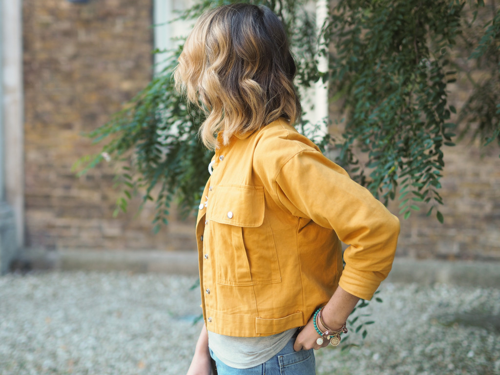 Style Diary: Cropped denim and Mustard tones